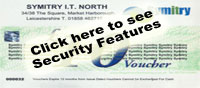 Gift Voucher Security Features - Click to Enlarge