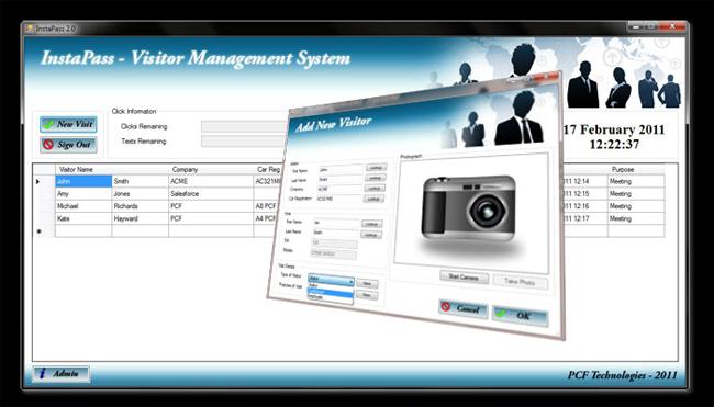 Visitor Management Software, Visitor System, Reception