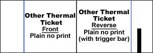 Thermal Stock Ticket